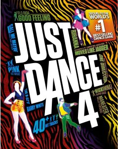 Just Dance 4 (Ubisoft) - Cover