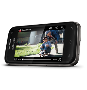 Samsung Galaxy Rush Sideview Review