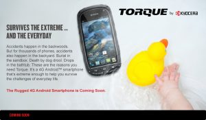 kyocera torque announcement