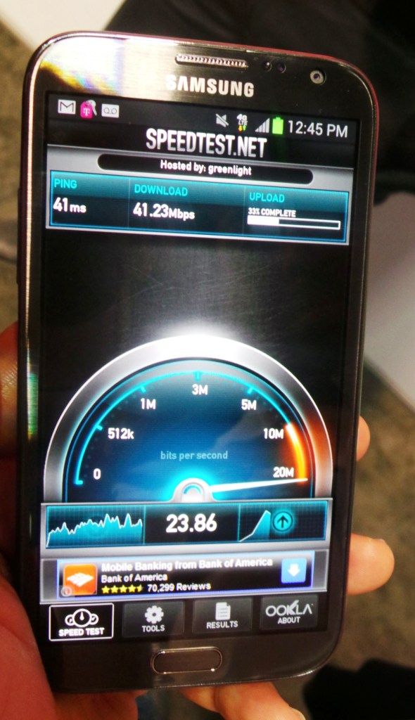 T-Mobile 4G LTE - On Samsung Galaxy Note II