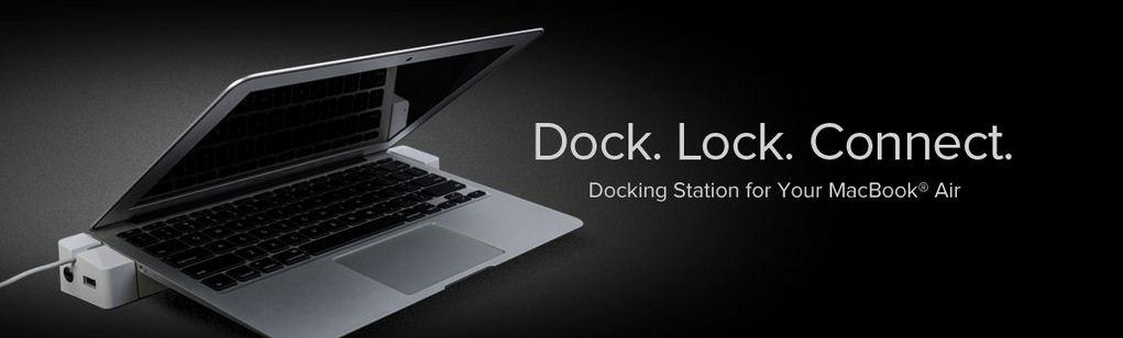 LandingZone 2.0 PRO Docking Station- MacBook Air - Lock Dock and Connect Analie Cruz