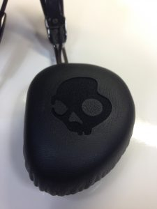 Skullcandy Navigator On-Ear Headphones Review - Analie Cruz - Tech We Like - Skull on ear-cup