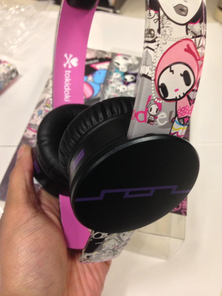 Sol Republic tokidoki Tracks HD On-Ear Headphones - Analie Cruz - TWL - Cans Close Up