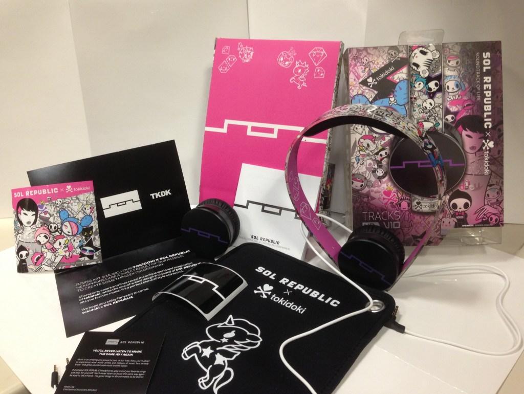 Sol Republic tokidoki Tracks HD On-Ear Headphones - Analie Cruz - TWL - Box Contents