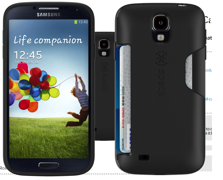 competitive price ba87e 6c728 Speck Brings Their Cases to the HTC One and the Samsung Galaxy S4