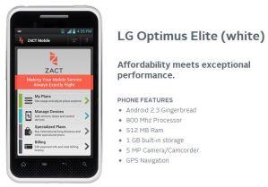 Zact Service - Analie Cruz - LG Optimus Elite