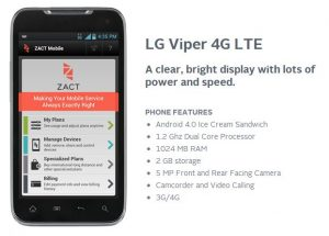 Zact Service - Analie Cruz - LG Viper 4G LTE