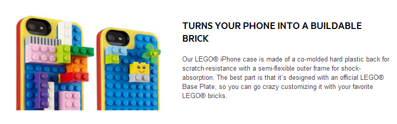 Belkin and Lego - Apple iPhone 5 Case 1