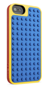 Belkin and Lego - Apple iPhone 5 Case Blue and Yellow