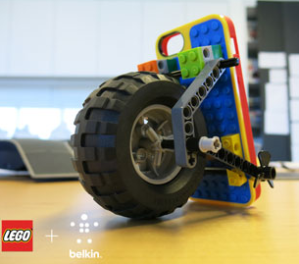 Belkin and Lego - Apple iPhone 5 Case With Wheel