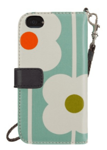 Belkin and Orla Kiely - Analie Cruz - TWL - iphone 5 purse wallet wristlet case