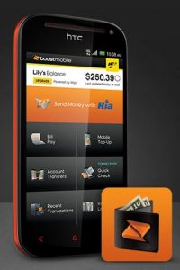 Boost Mobile Wallet - Quick Check Feature - App and Phone