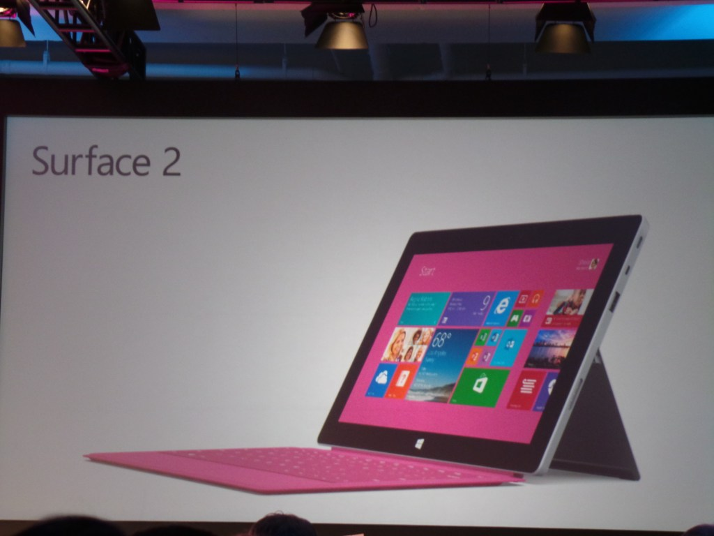 Microsoft Surface 2 and Microsoft Surface Pro 2 - Pink Keyboard