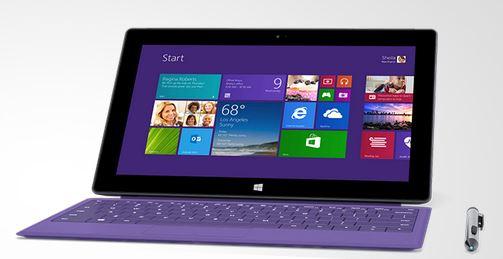 Microsoft Surface 2 and Microsoft Surface Pro 2 - Purple Keyboard and Stylus