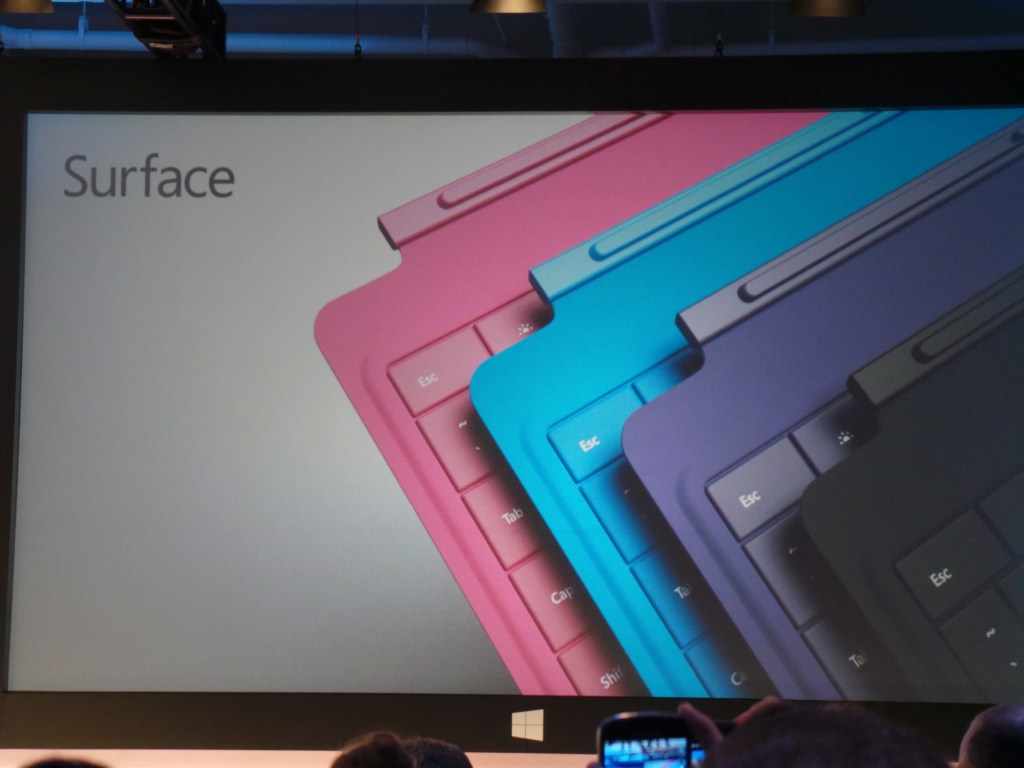 Microsoft Surface 2 and Microsoft Surface Pro 2 - Keyboards - Type Covers
