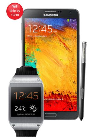 Samsung Galaxy Note 3 and Samsung Galaxy Gear Watch Smartwatch -analie-cruz