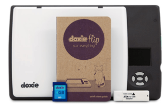 Doxie Flip Scanner - front view- analie cruz