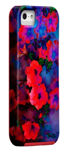 Case-Mate Amy Sia Collection - Ruby Blue Vine -Apple iPhone 5-5S