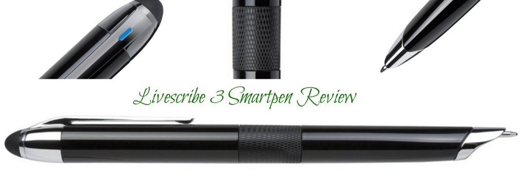 Livescribe 3 Smartpen Review Analie Cruz Header