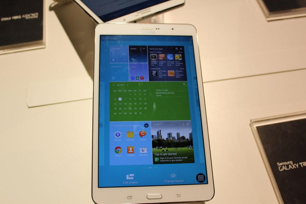 Samsung Galaxy TabPRO 8.4 inch CES 2014