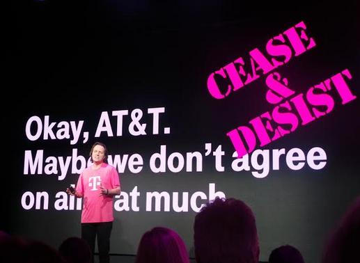 T-Mobile Uncarrier 4.0 CES 2014 - #CES2014