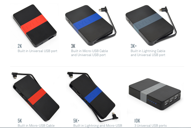 TYLT ENERGI Battery Packs CES 2014 - Analie Cruz