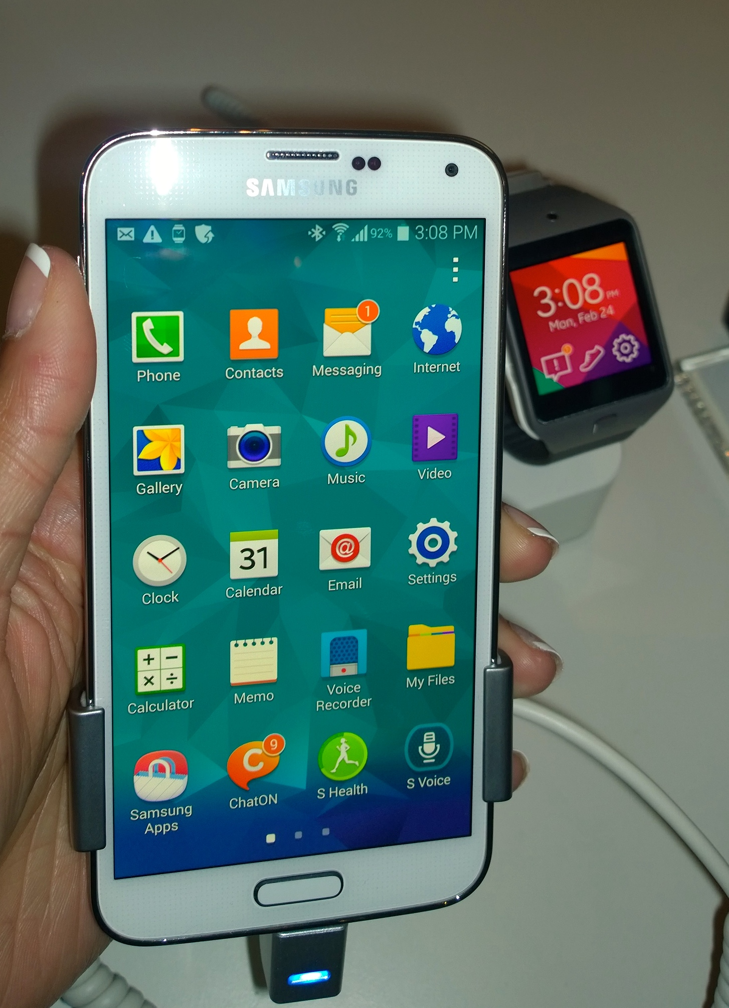 Samsung galaxy s 5 smartphone official