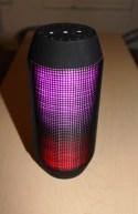 JBL Pulse Wireless Bluetooth Speaker Review - Tech We Like - Light Show 3
