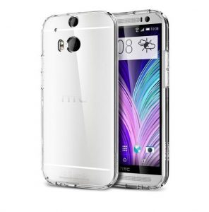 Spigen Ultra Fit Capsule Case - Clear-  for HTC One M8 - Tech We Like - Cruz