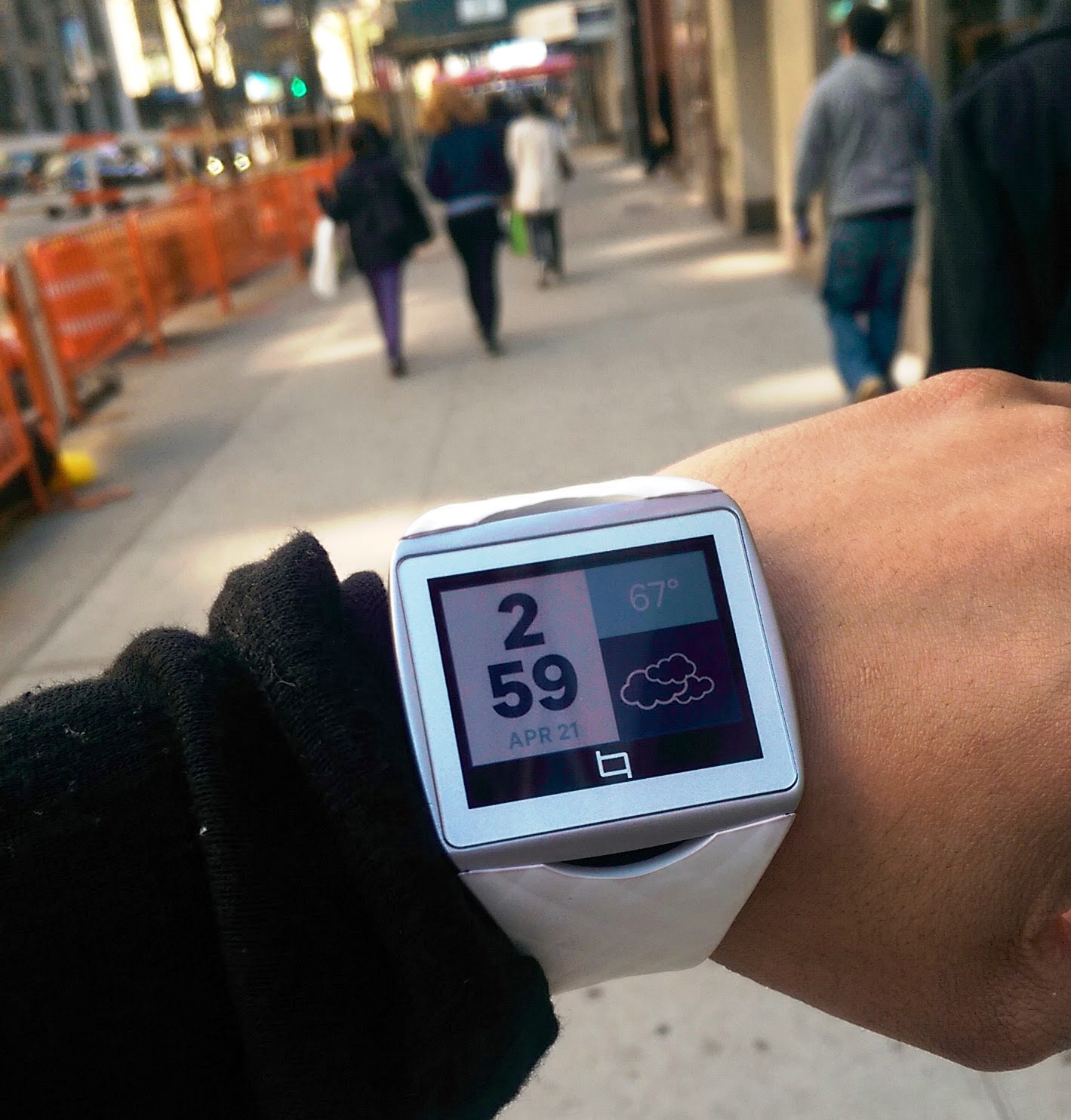 Toq, The Qualcomm Smartwatch That Has No Power Button
