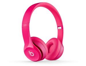 Beats Solo2 On- Ear Headphones - BeatsbyDre -pink-quarter