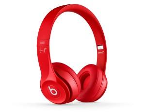Beats solo2 On- Ear Headphones - BeatsbyDre -red-quarter