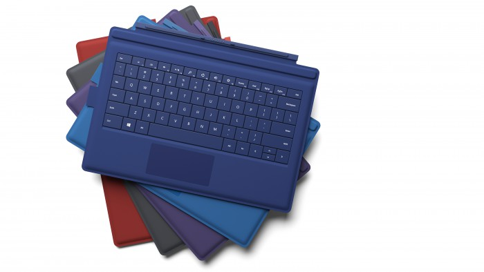 Microsoft Surface Pro 3 Type Cover Keyboards