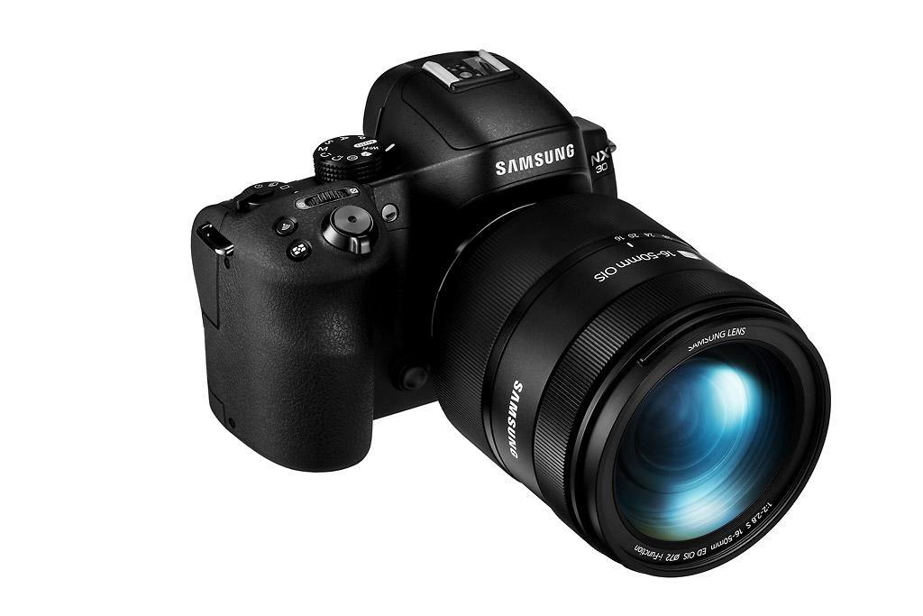 Samsung Camera NX30  #DitchTheDSLR - Front