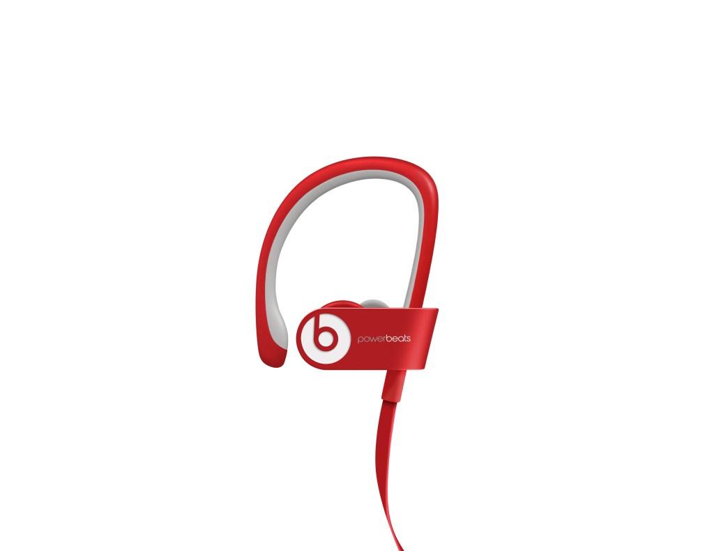 Beats Electronics - powerbeats2 -Wireless- Headphones -red-front