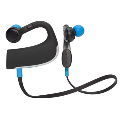 blueant pump hd sportbuds headphones review waterproof goes wireless. Black Bedroom Furniture Sets. Home Design Ideas