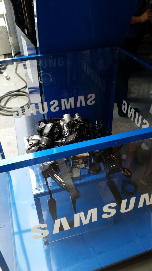 #DITCHtheDSLR Event - Samsung - Bin-  Empty
