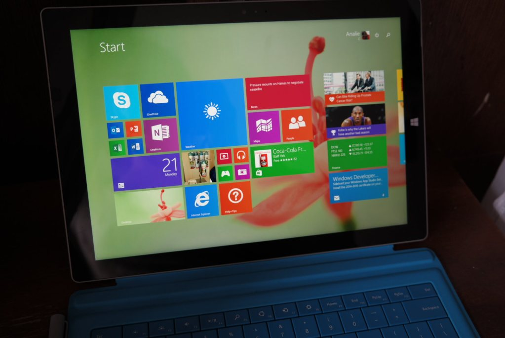 Microsoft Surface Pro 3 2-in-1 Review - Screen