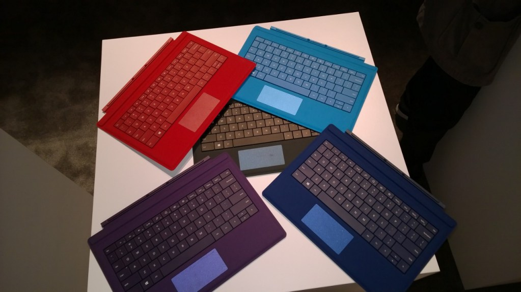 Microsoft Surface Pro 3 Review - Type Covers