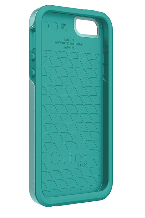 Otterbox Symmetry Series Case Review - Inside of case-iPhone 5 5S - Aqua Sky