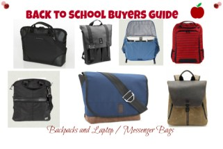 Back to School Buyers Guide  - Backpacks  Laptop Bags and Messenger Bags - Cruz 11