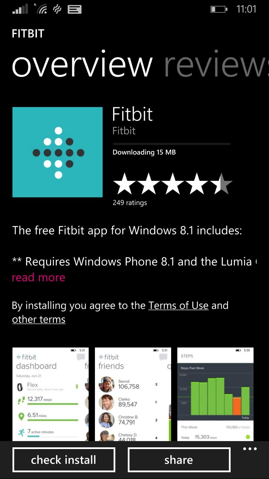 Microsoft Phone App Store