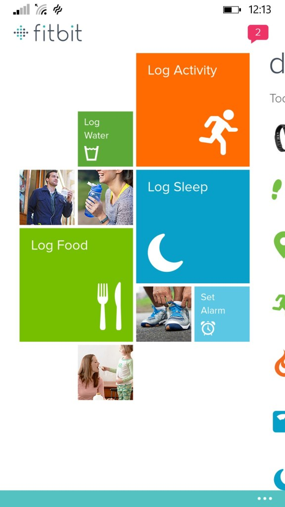Fitbit App Windows Phone 8.1 - Microsoft Windows App Store - Logs