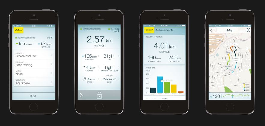 Jabra SPORT Pulse Wireless App Screenshots