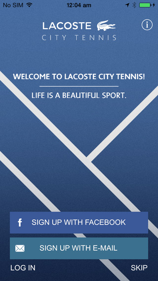 LACOSTE City Tennis App - Itunes