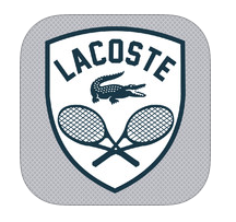 LACOSTE City Tennis App Logo- Itunes