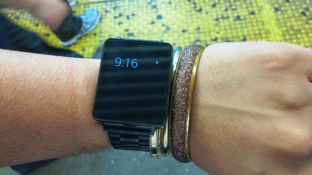 LG G Watch Review (Smartwatch) Google Android Wear - In Sunlight