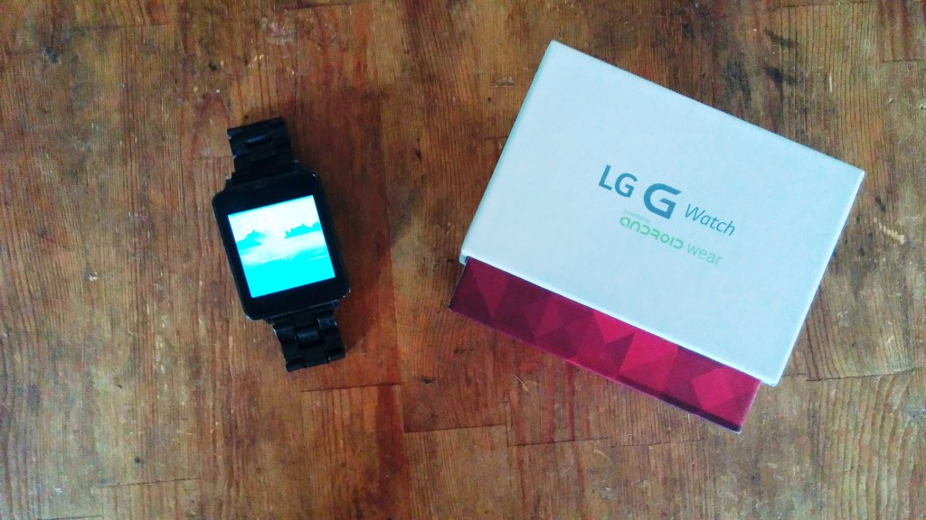 LG G Watch Review (Smartwatch) Google Android Wear - Box
