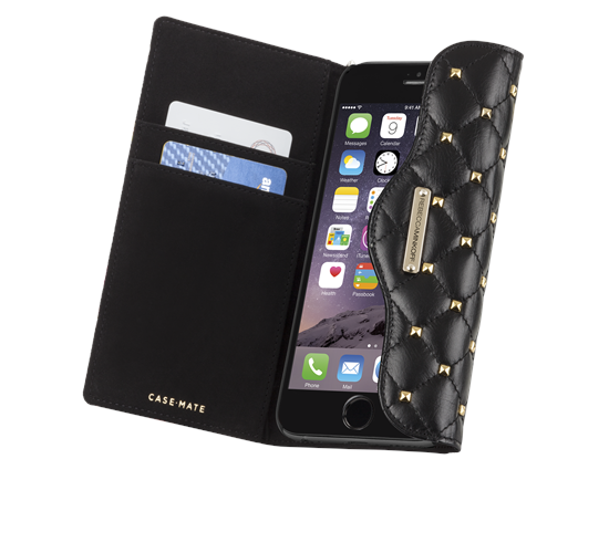 Best Cases for Apple iPhone 6 Plus - iPhone 6Plus - Case-Mate Rebecca Minkoff Quilted Folio Wristlet