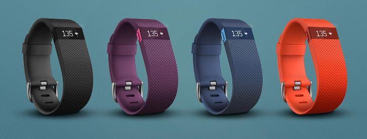 Fitbit Charge HR Activity Tracker - Analie Cruz